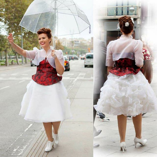Vestido de novia Barcelona: vestido Pin up - Surriel Atelier, Modista Barcelona