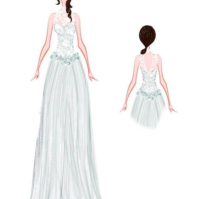 vestidos de novia en Barcelona: diseños de vestido por Surriel Atelier