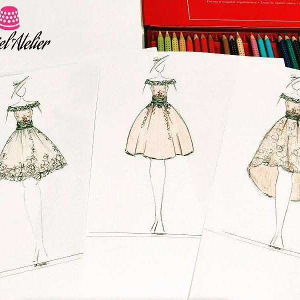 Vestidos de fiesta Barcelona: diseños unicos de Surriel Atelier