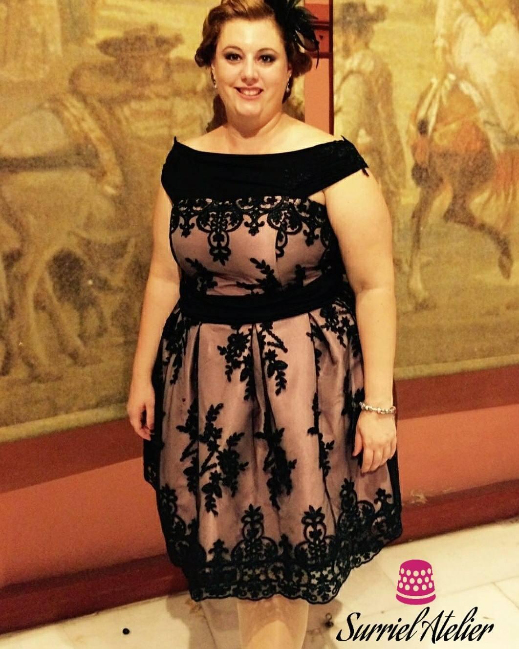 vestidos de noche diseñado por Surriel Atelier, modista en Barcelona